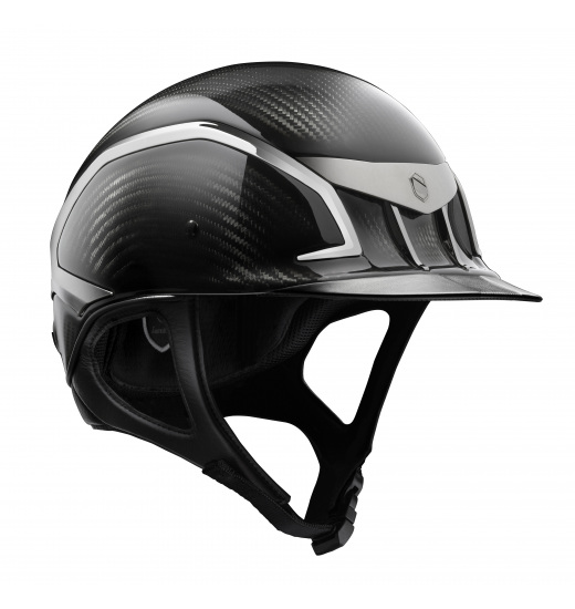 XC CARBON JUMPING HELMET BLACK