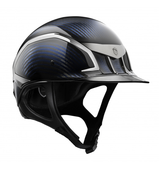XC CARBON JUMPING HELMET BLUE