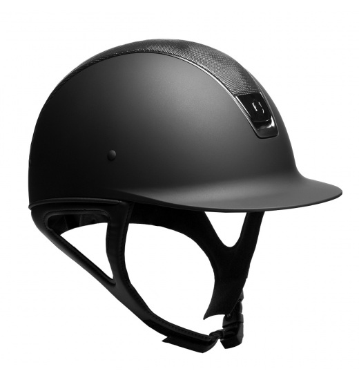 SHIMMER TOP / BLACK TRIM / BLACK CHROM / BLACK SHADOWMATT HELMET