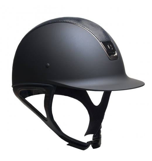 SHIMMER TOP / BLACK TRIM / BLACK CHROM / NAVY SHADOWMATT HELMET