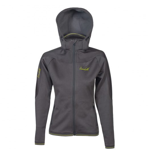 LADIES HOODED SOFTSHELL JACKET
