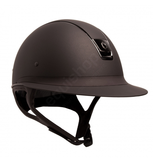 MISS SHIELD SHADOWMATT / SILVER CHROME / BROWN HELMET