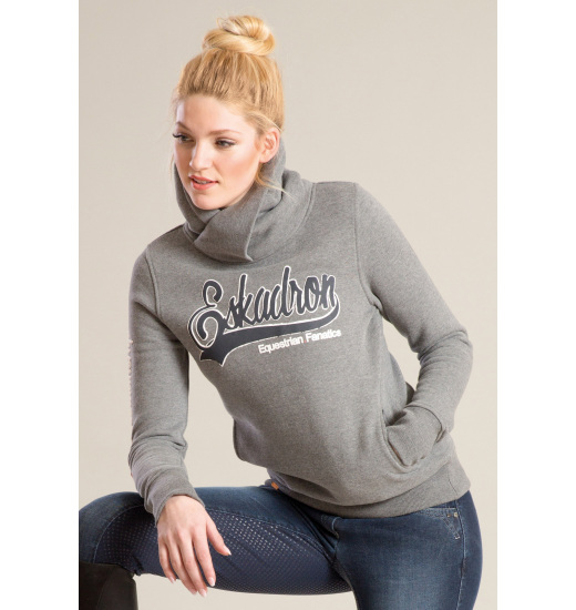 DONNA LADIES HOODIE ANTHRA MELANGE