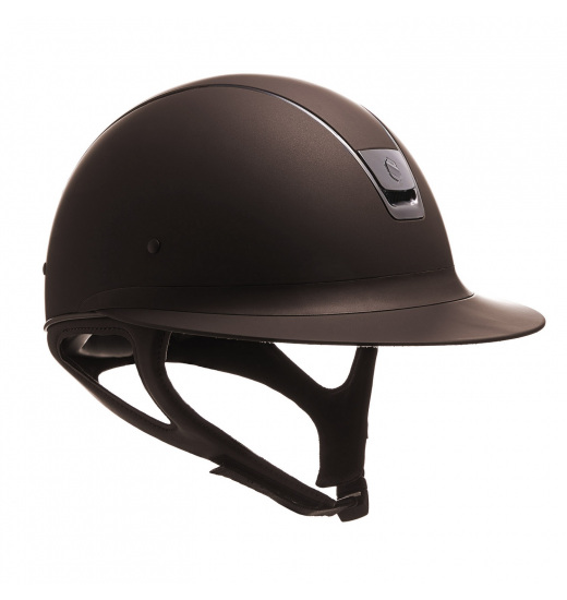 MISS SHIELD SHADOWMATT / BLACK CHROME / BROWN