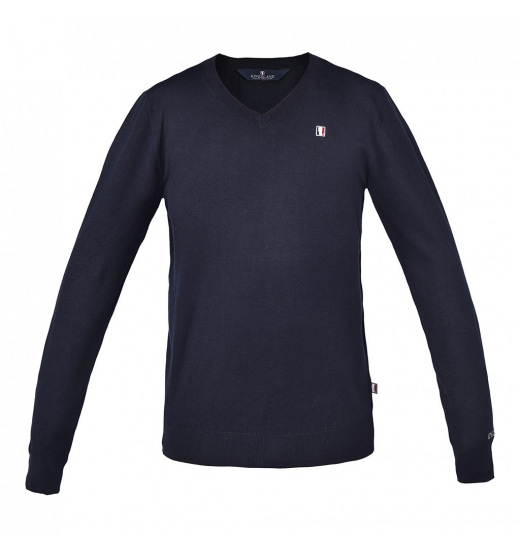 CLASSIC MENS V-NECK KNITTED JUMPER