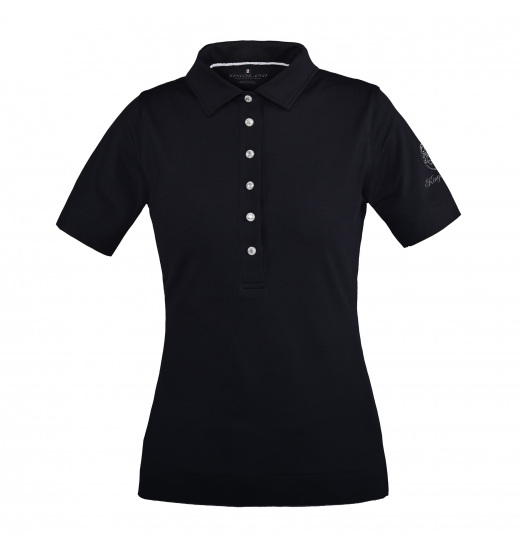 SELMA LADIES JERSEY POLO SHIRT