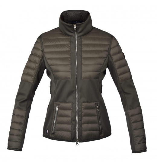 MAROON LADIES INSULATED JACKET