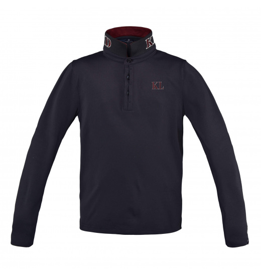 DUFOURSPITZE JUNIOR LONG SLEEVE POLO PIQUE