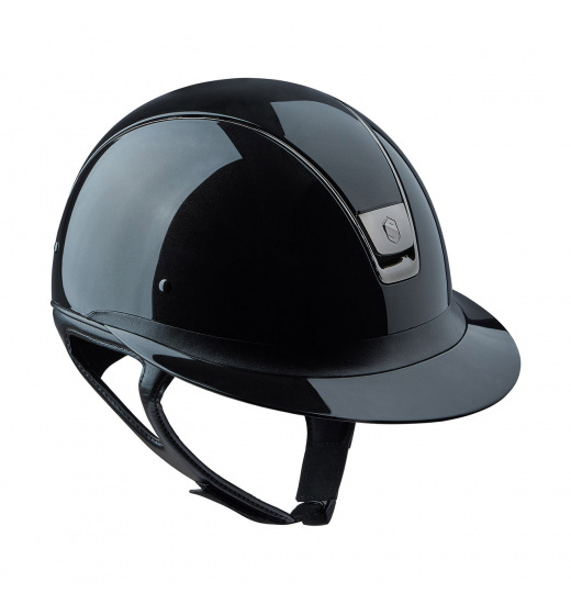 MISS SHIELD SHADOW GLOSSY HELMET BLACK