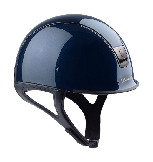 RACE SHADOW GLOSSY HELM MARINEBLAUER