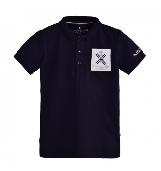 SAPELO JUNIOR COTTON POLO SHIRT
