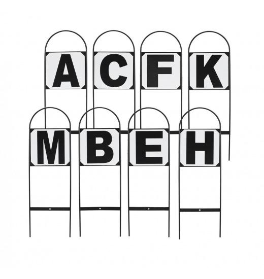 LITERY NA CZWOROBOK STECKBAR 20X40