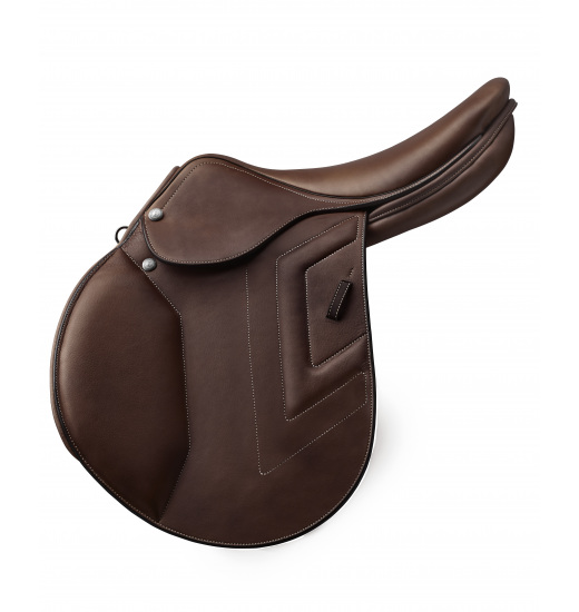 FLAT SEAT CALFSKIN JUMPING SADDLE