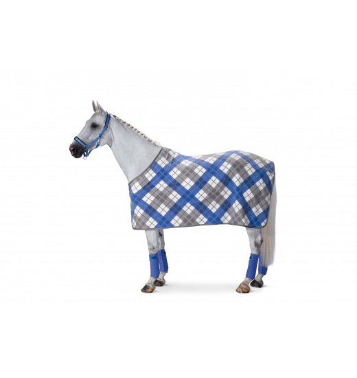 FLEECE CHECKED SWEAT RUG CLASSIC SPORTS