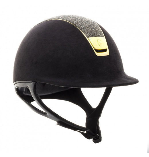 PREMIUM / CRYSTAL GOLD TOP / GOLD CHROME / BLACK HELMET