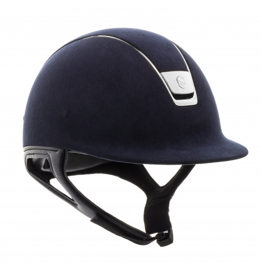 PREMIUM / ALCANTARA TOP NAVY / SILVER CHROME / NAVY HELMET