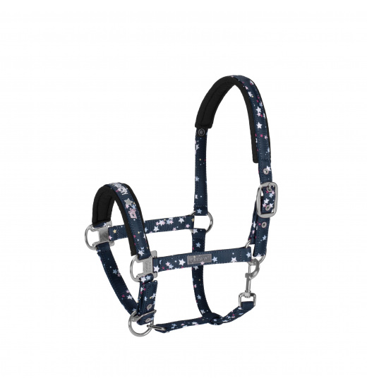 HEADCOLLAR PIN BUCKLE COVERED YOUNG STAR