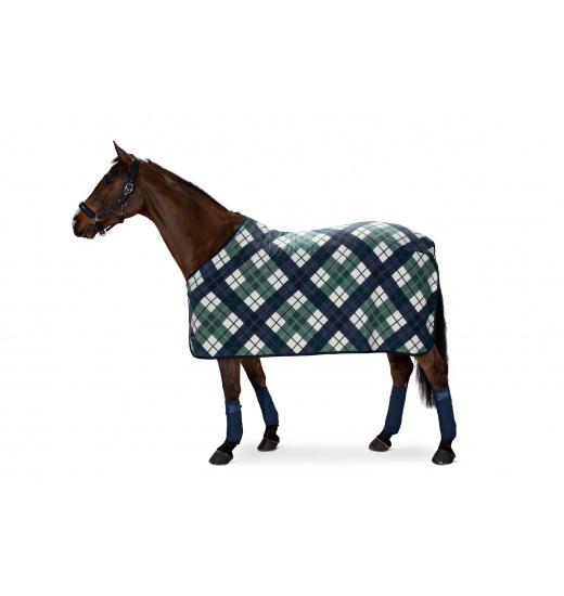 FLEECE CHECK SWEAT RUG CLASSIC SPORTS