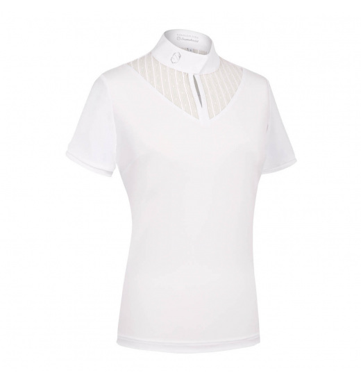 ELEONORA WHITE WOMEN'S SHOW SHIRT