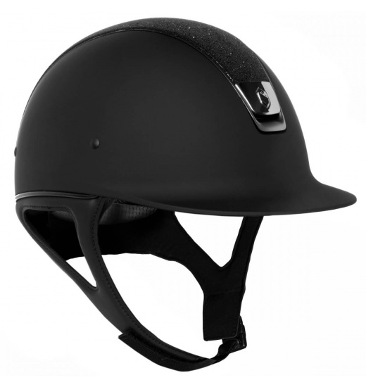 TOP CRYSTAL / BLACK CHROME / BLACK SHADOWMATT HELMET