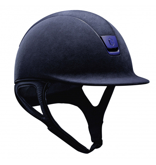 ALCANTARA TOP/BLUE MATT/ NAVY PREMIUM HELMET
