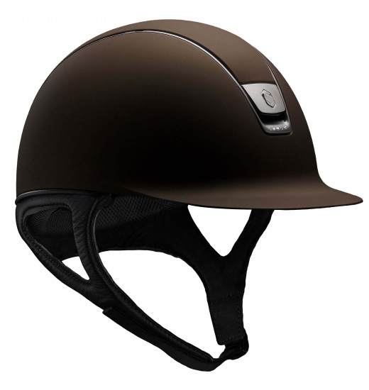 5 SWAROVSKI / BROWN SHADOWMATT HELMET