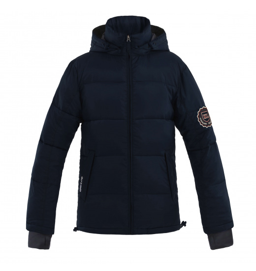 GRANT UNISEX QUILTED HOODED JACKET