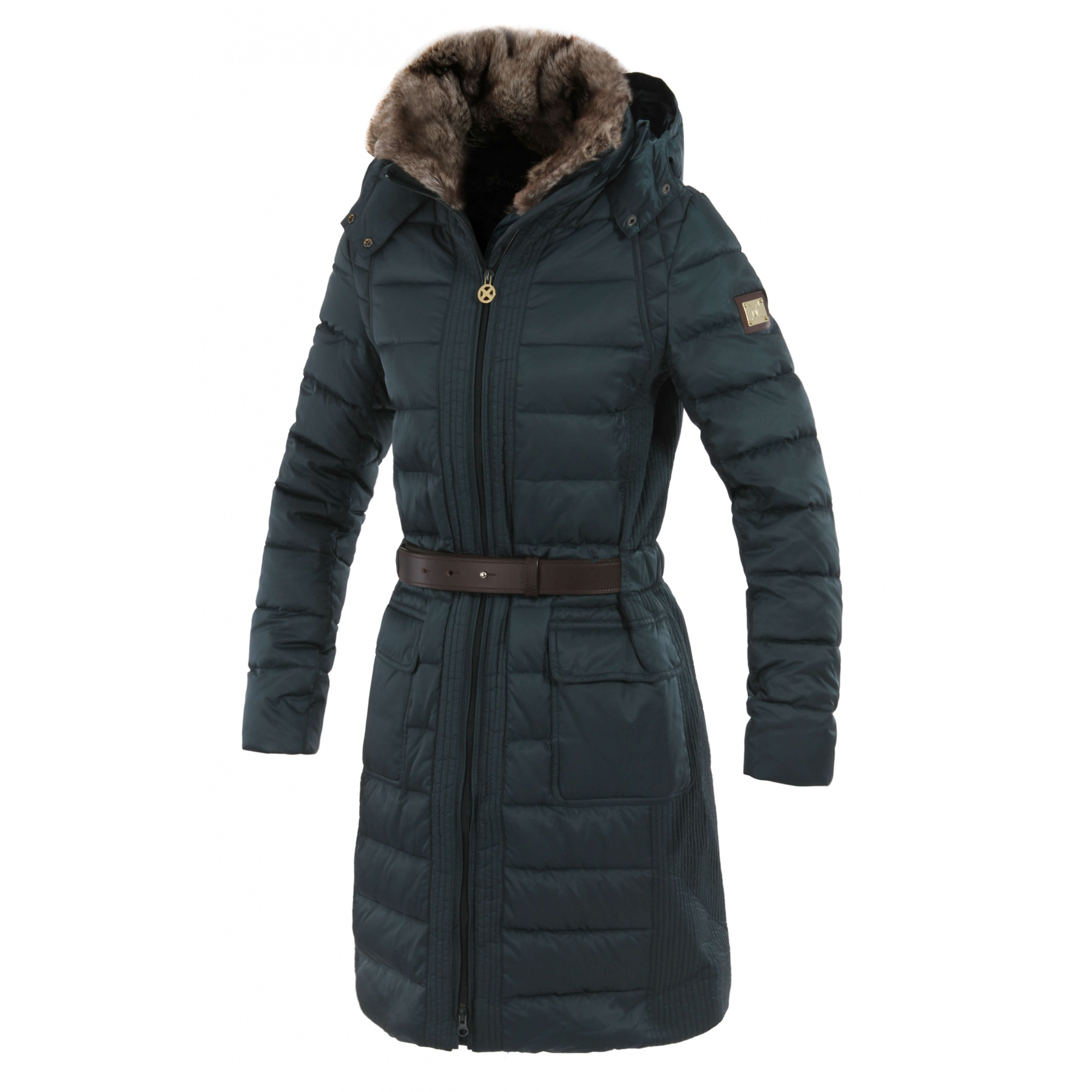 on feet at top design get new FLORENCIO LADIES QUILTED WINTER COAT