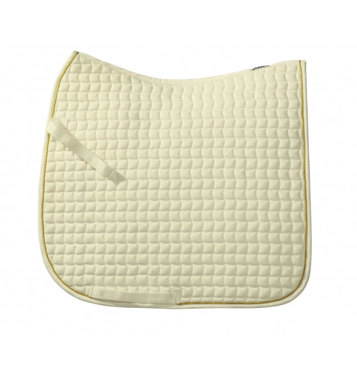 COTTON SADDLE PAD GOLD CORD