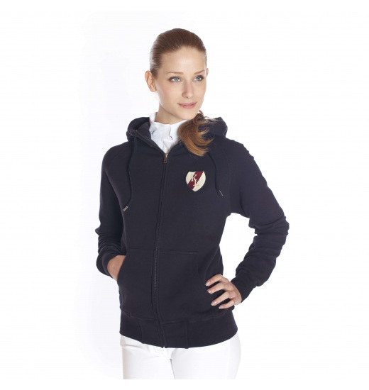 HOODED SWEAT JACKET COLLEGE CLASSIC