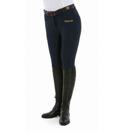LADIES KELLY SLIM FIT BREECHES WITH MICROFIBER SU14