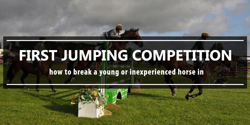 Pierwsze zawody skokowe - jak wprowadzić młodego bądź niedoświadczonego konia