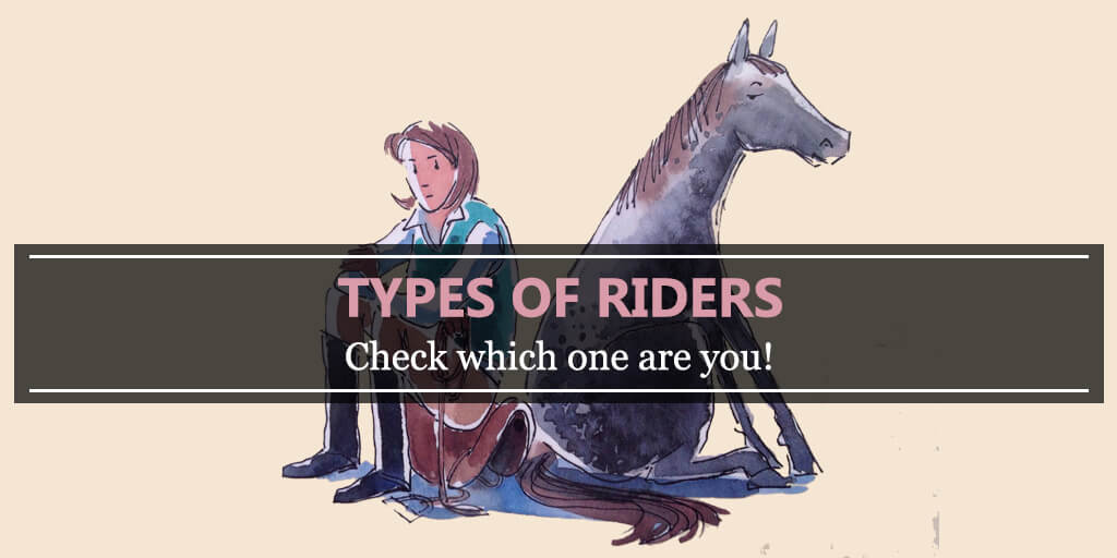 Types of riders - check which one are you