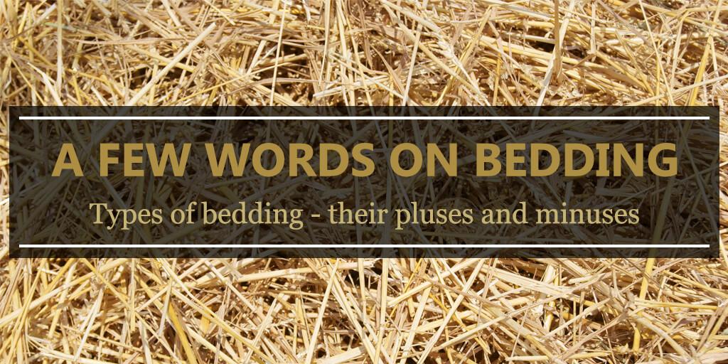A Few Words On Bedding Equishop Equestrian Shop