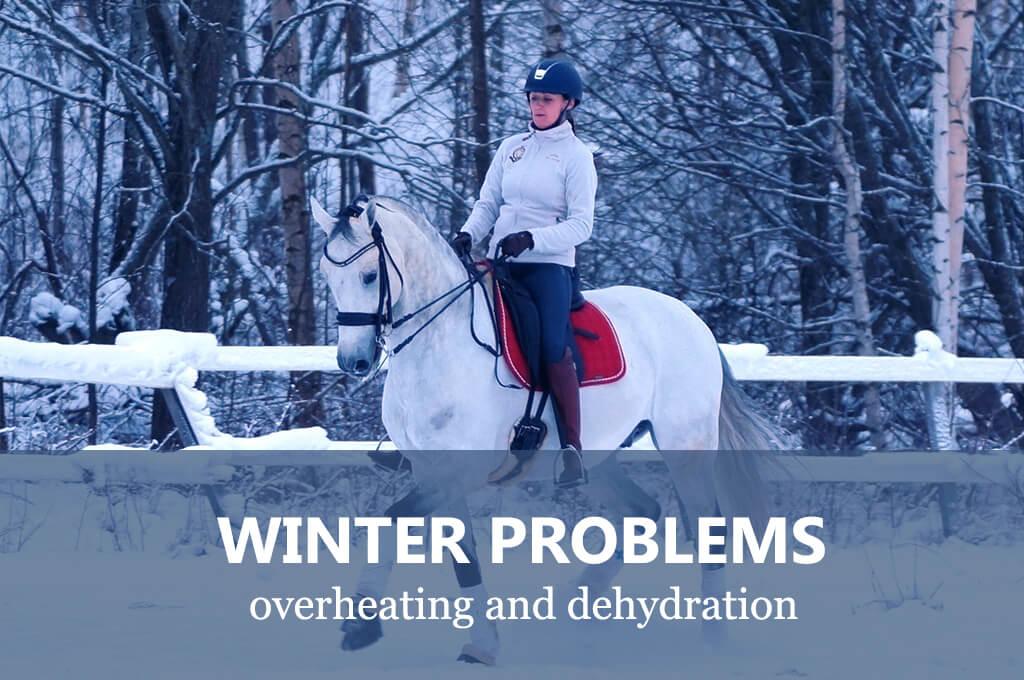 Zimowe problemy - jak zapobiec odwodnieniu konia