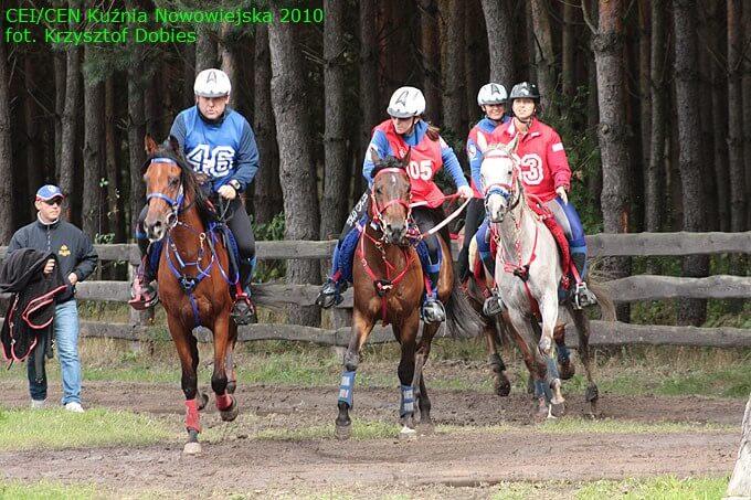 Sportowe Rajdy Konne CEI/CEN Kuźnia Nowowiejska 2012 - 2