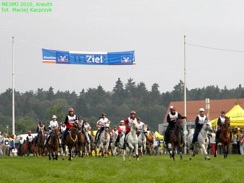 Sportowe Rajdy Konne Mistrzostwa Europy Juniorów i Młodych Jeźdźców Kreuth 2012