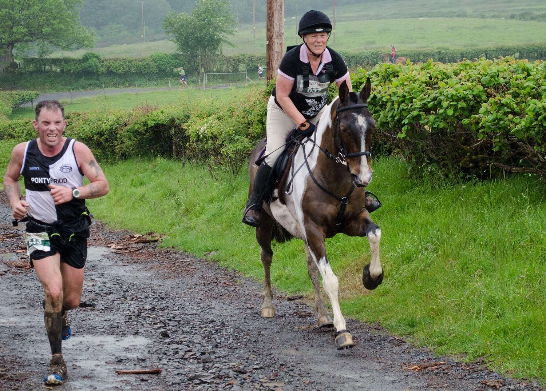 man vs horse maraton