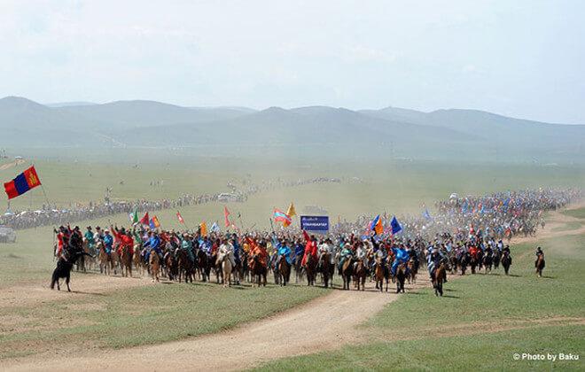 Największa parada konna