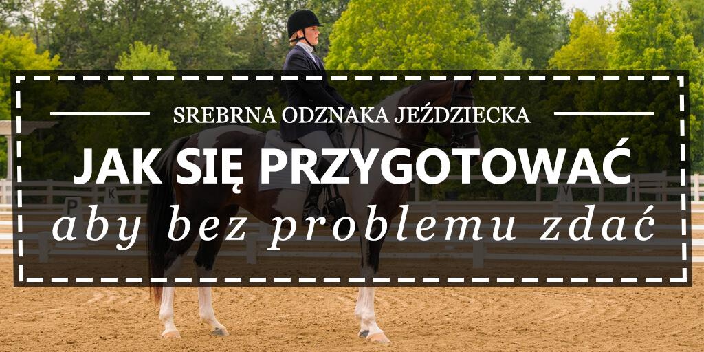 0a8333ee78b7c Srebrna Odznaka Jeździecka — jak się przygotować? Sklep jeździecki