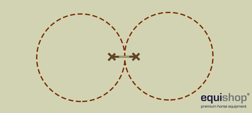 wariacje łuk galop - cavaletti - koziołek na środku1