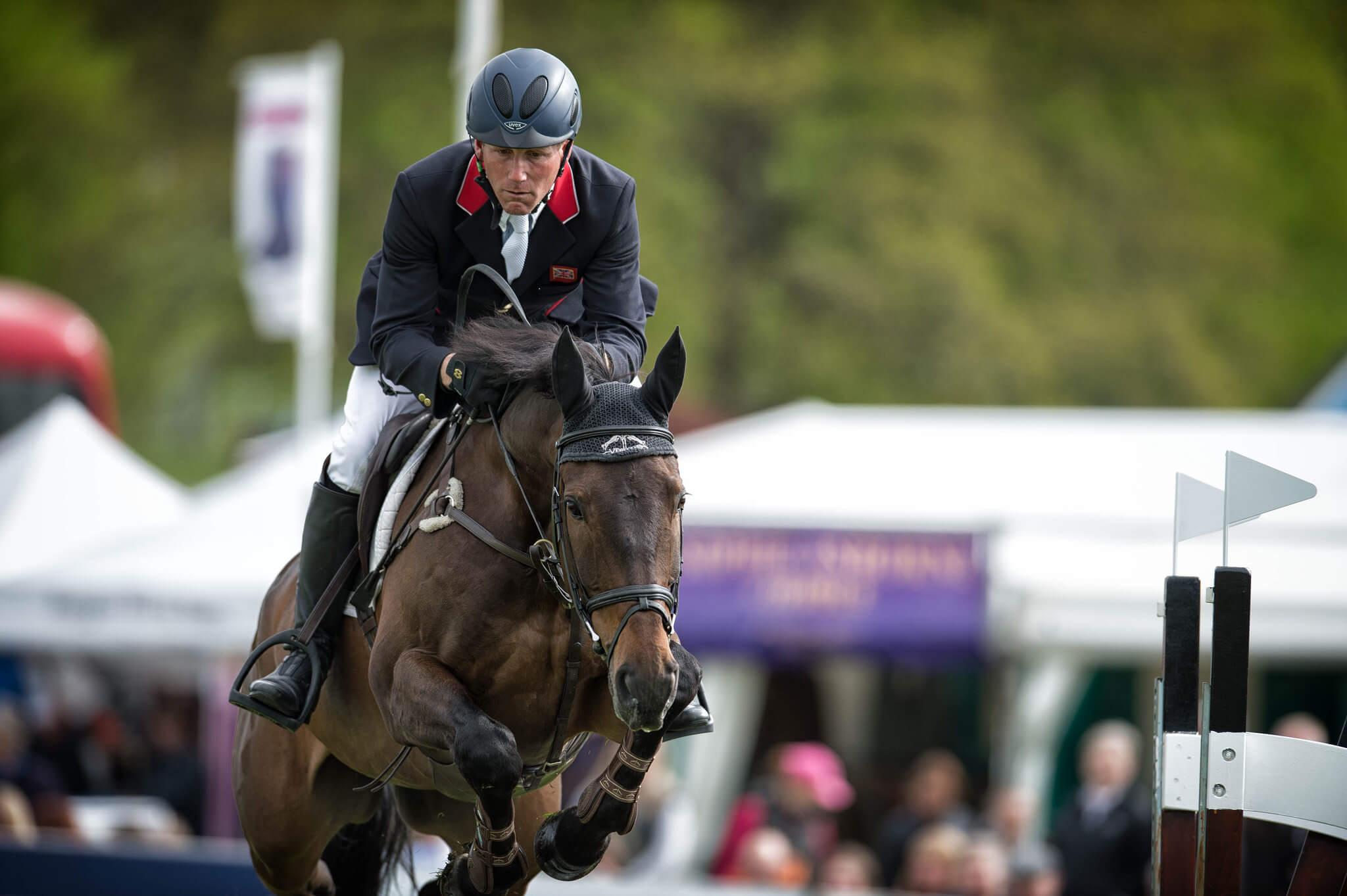 Determinacja i ambicja dobry jeździec