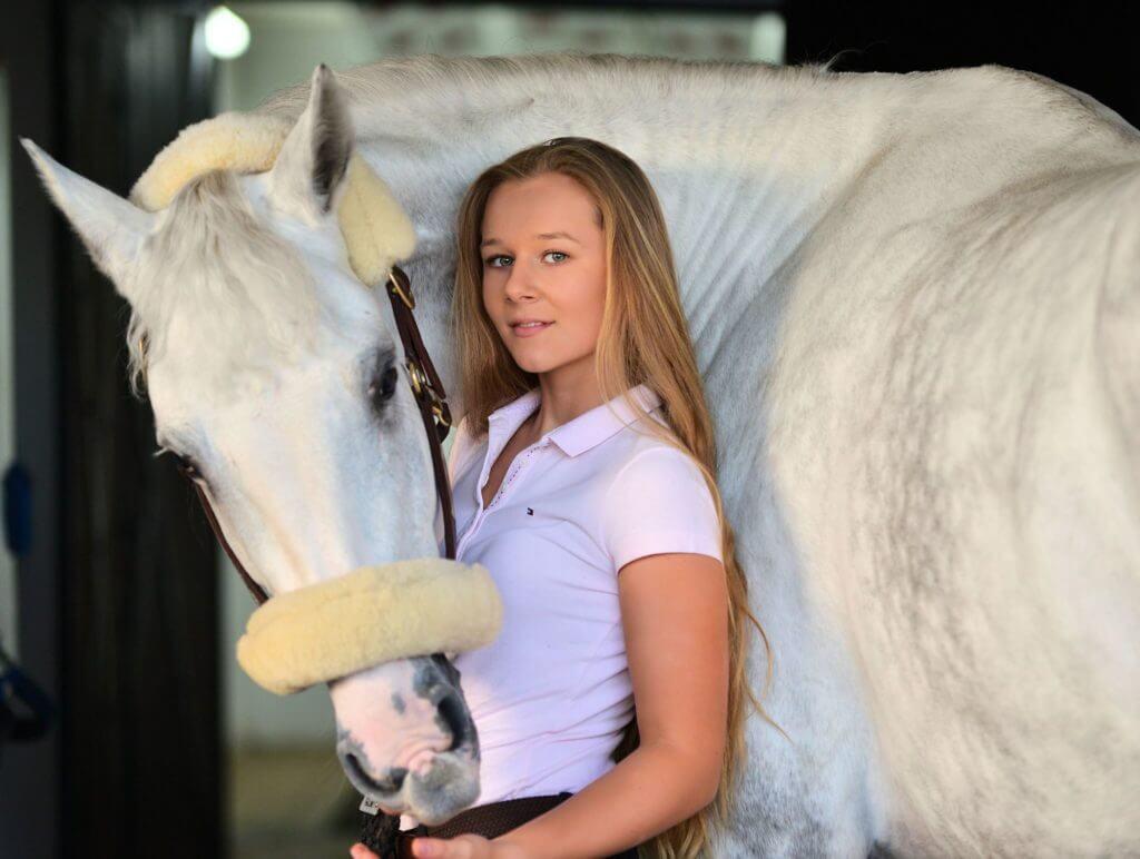 Dalia Lehmann i koń Silver Star