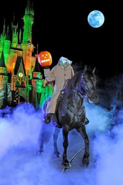 jeździec bez głowy kostium halloween dla konia