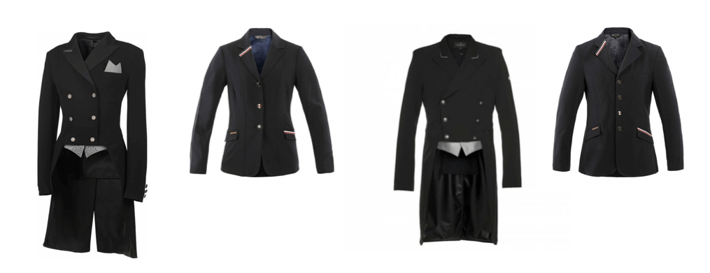 9b0d95ee50 WHICH SHOW JACKET FOR A COMPETITION? - EQUISHOP Equestrian Shop