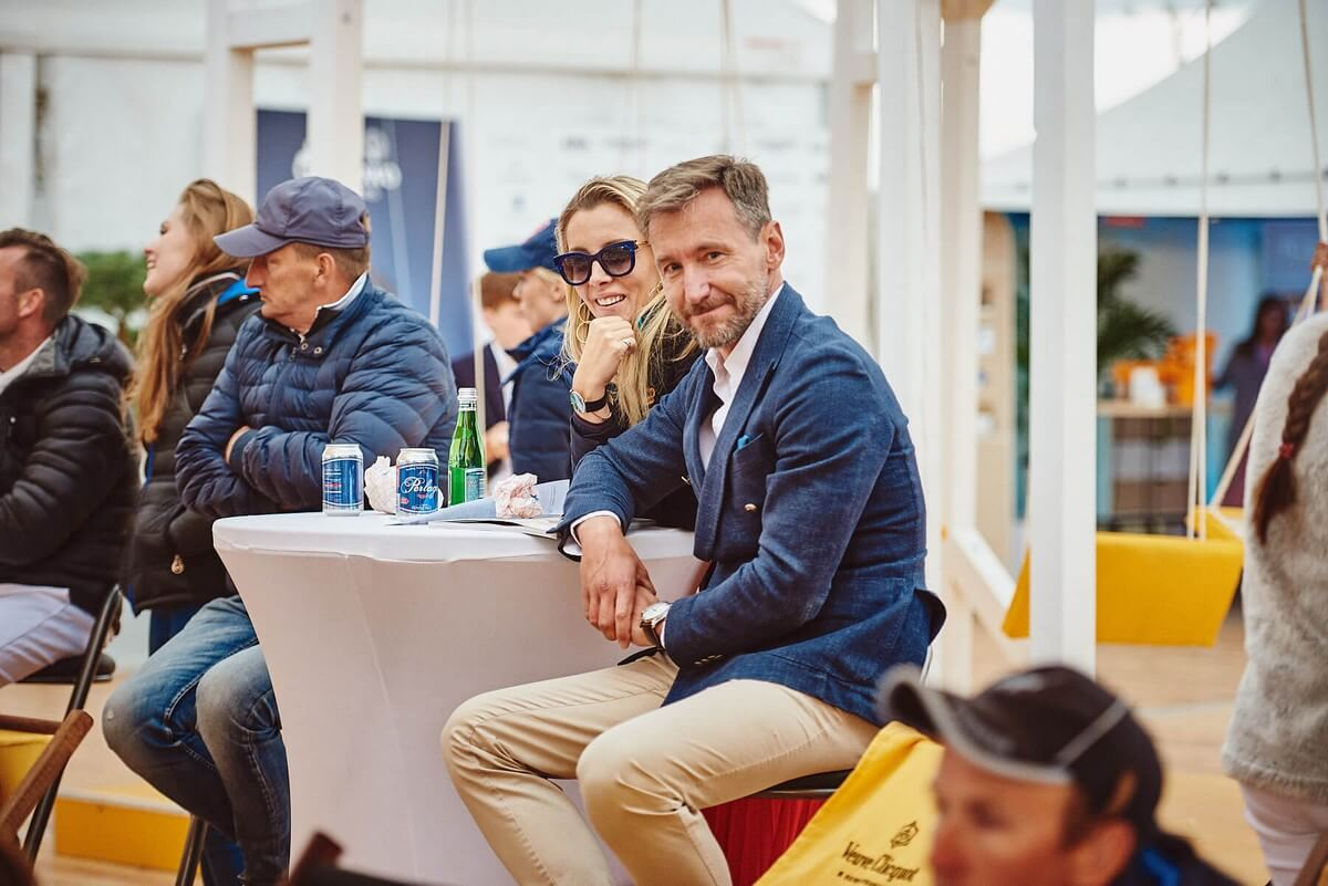 Gałkowo Masters 2018 Piotr Kraśko i Karolina Ferenstein-Kraśko 2