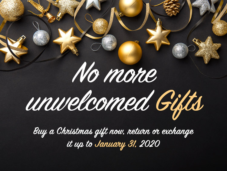 No more unwelcomed gifts