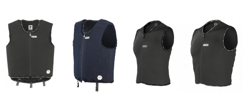 Milton and Alter vests