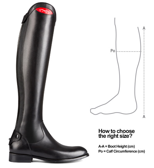 How to choose the right size of Animo boots?