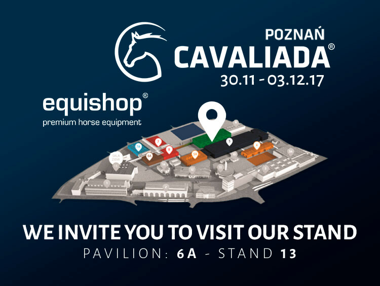 Location on Equishop's stand during CAVALIADA 2017 equestrian fair